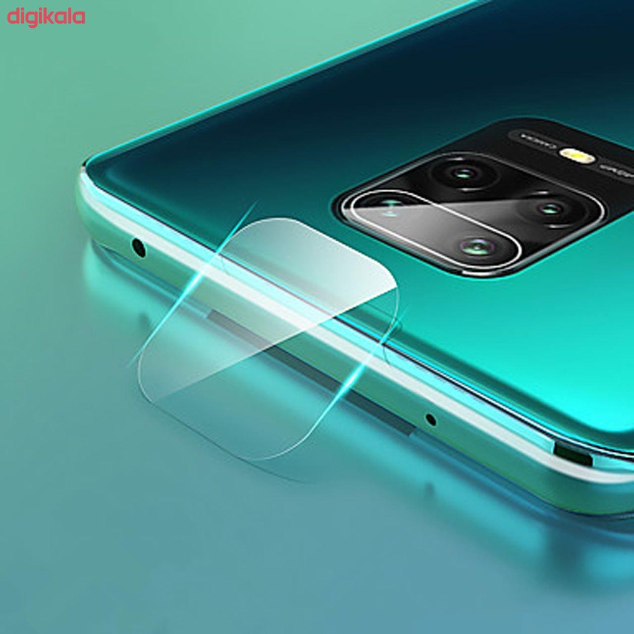 محافظ صفحه نمايش روبیکس مدل FUA مناسب برای گوشی موبایل شیائومی Redmi Note 9S/9 pro/9/9 pro max به همراه محافظ لنز دوربین main 1 4