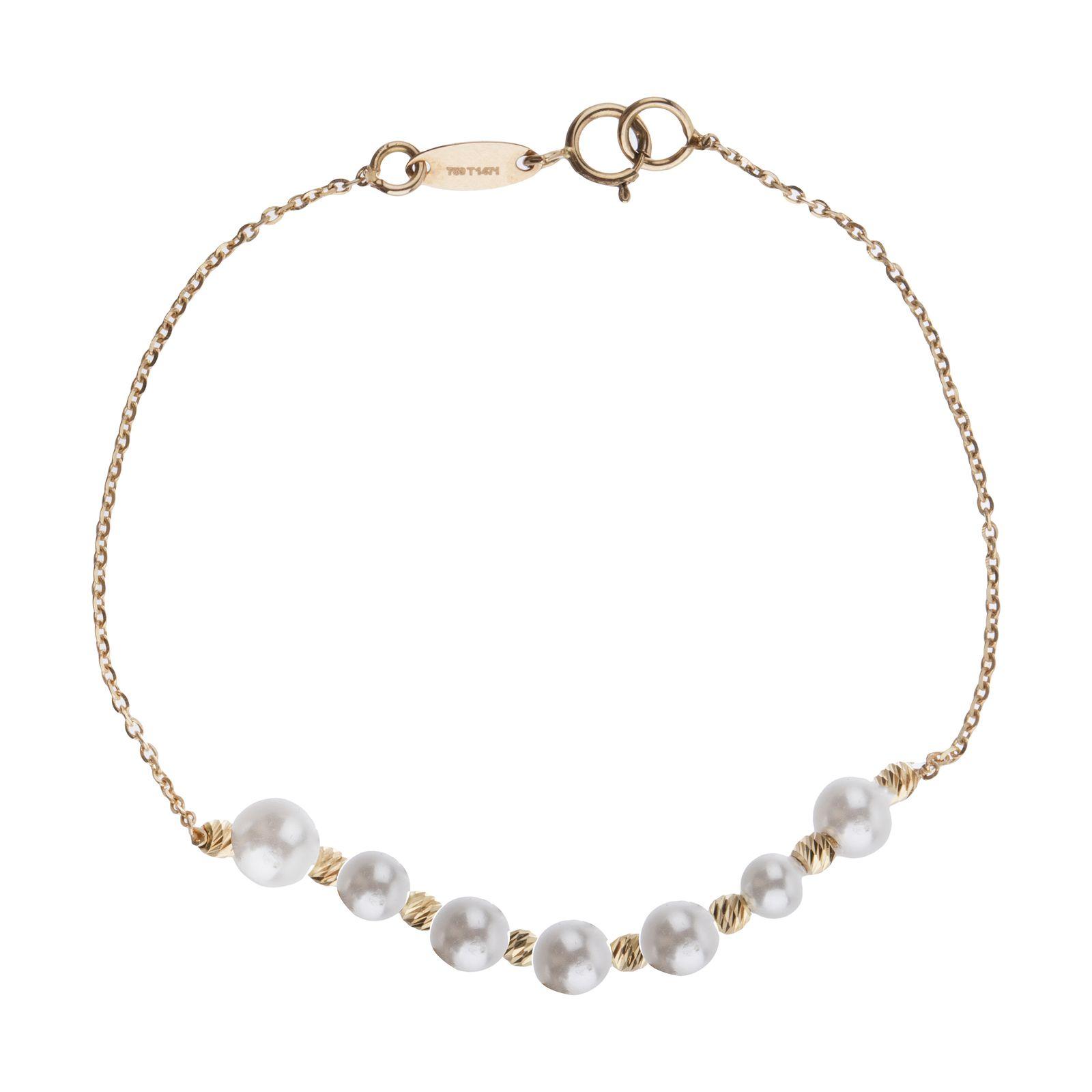دستبند طلا 18 عیار زنانه سیودو مدل 144831 -  - 2
