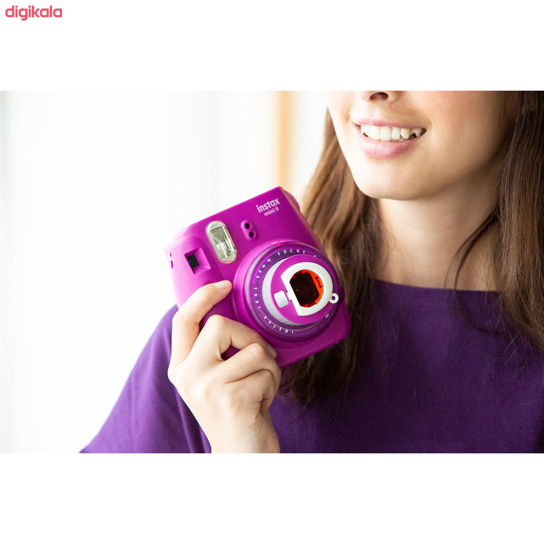 دوربین عکاسی چاپ سریع فوجی فیلم مدل Instax Mini 9 Clear main 1 37