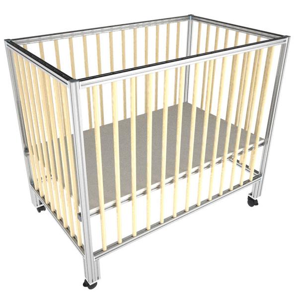 تختخواب نوزاد و کودک مدل هانا