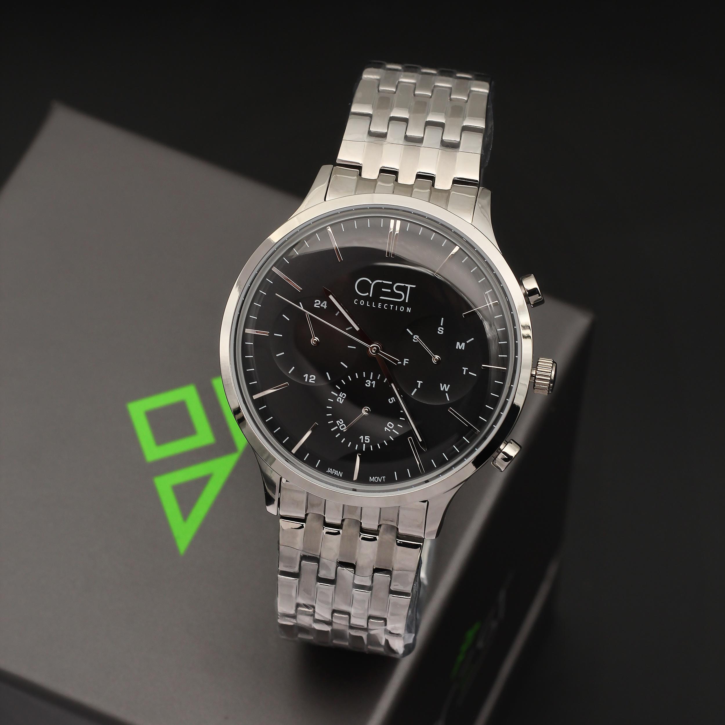 ساعت مچی عقربهای مردانه کرست مدل 5-6101