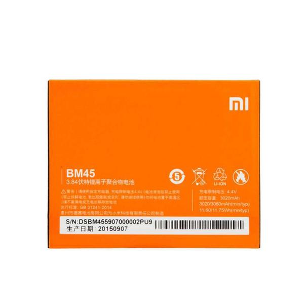 باتری موبایل مدل BM45 ظرفیت 3020 میلی آمپر ساعت مناسب برای گوشی موبایل شیائومی  REDMI Note 2
