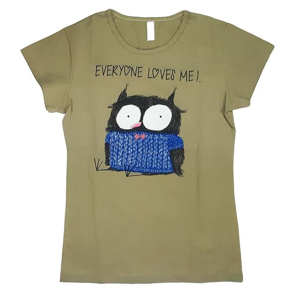 تی شرت زنانه کد TSH8A
