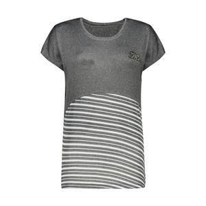 تی شرت زنانه مدل Q75رنگ ذغالی