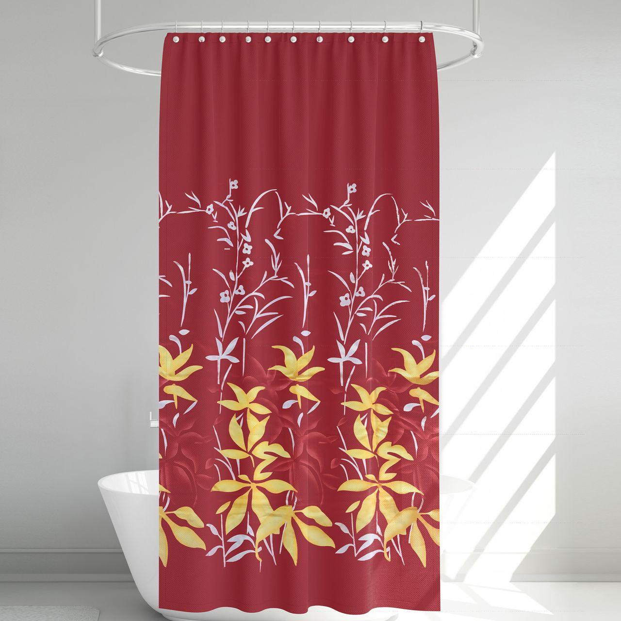 پرده حمام آرمیتا کد W007 سایز 180 × 200 سانتی متر