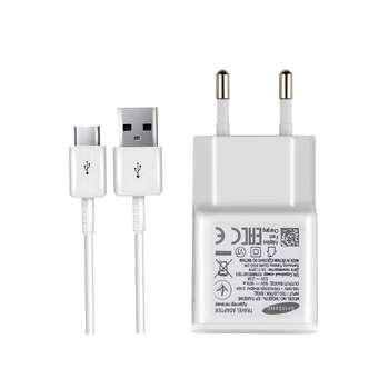 شارژر دیواری سامسونگ مدل EP-TA20EWE به همراه کابل تبدیل USB-C