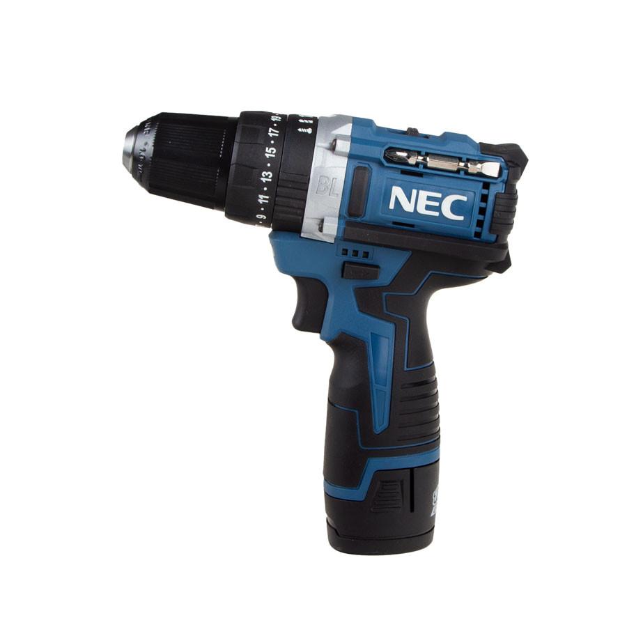 دریل پیچ گوشتی شارژی ان ای سی مدل NEC 1515