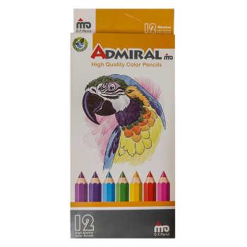 مداد رنگی 12 رنگ ادمیرال کد 18