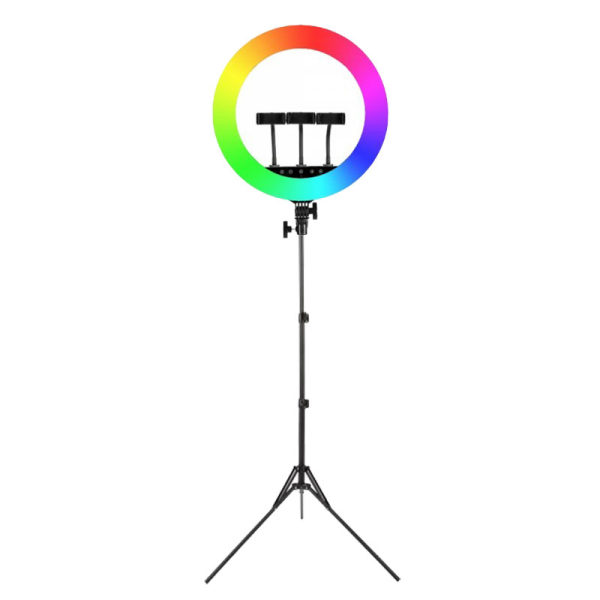 رینگ لایت مدل HQ450-RGB