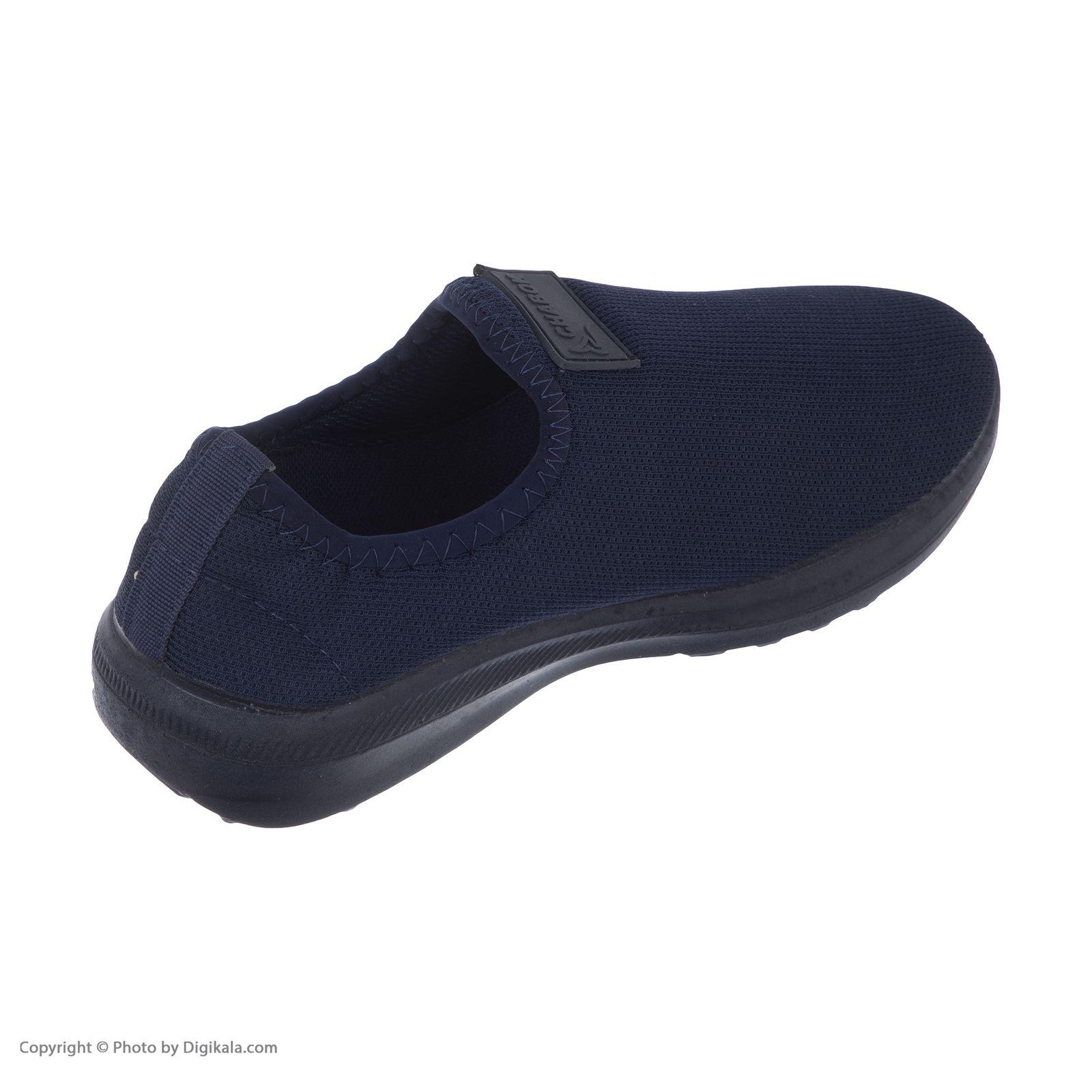 کفش راحتی چابک مدل رامش رنگ سرمه ای -  - 6