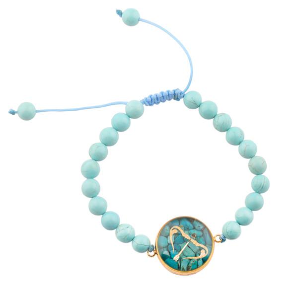 دستبند زنانه الون طرح ماه آذر کد FIR102