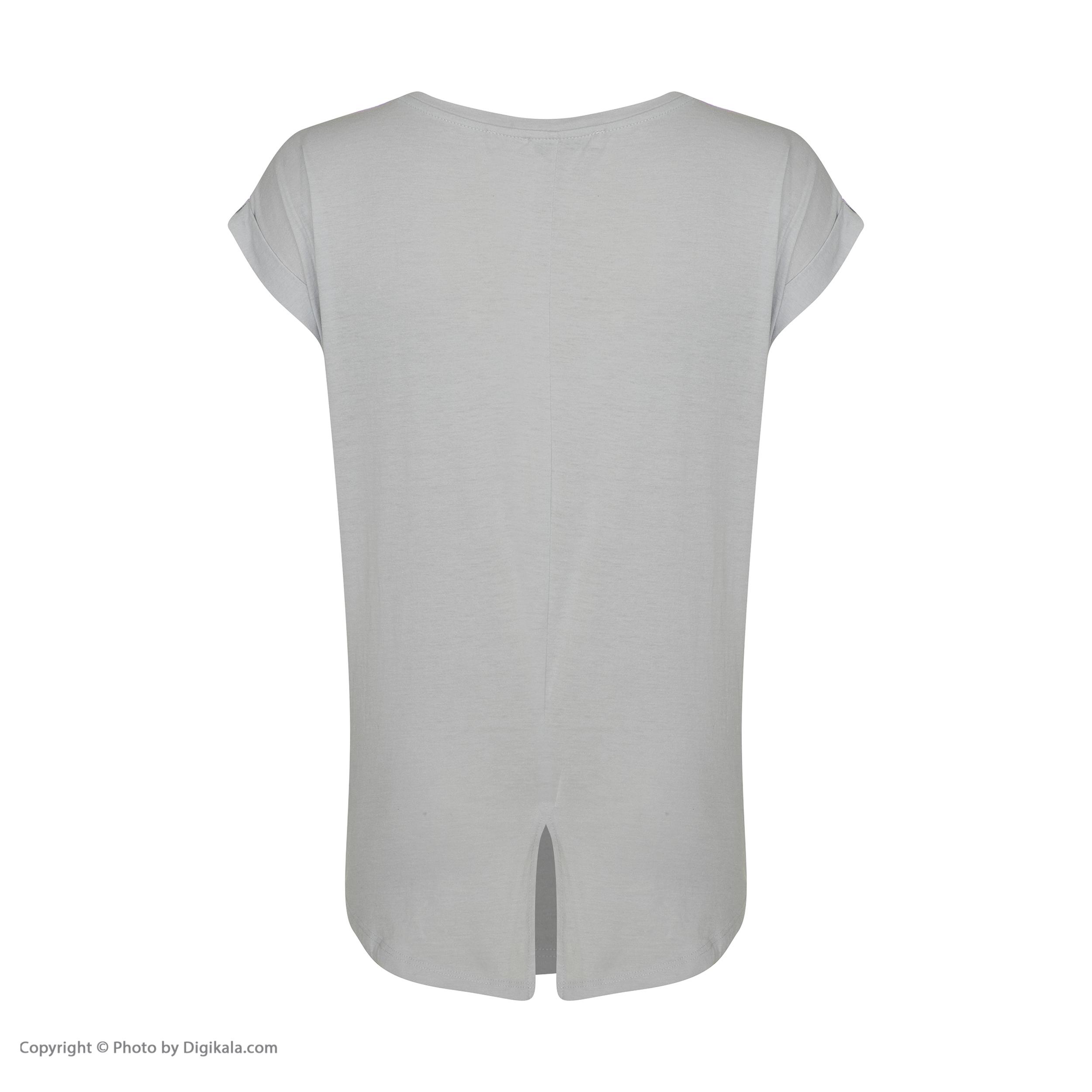 تی شرت زنانه کالینز مدل CL1033142-LIGHTBLUE main 1 3