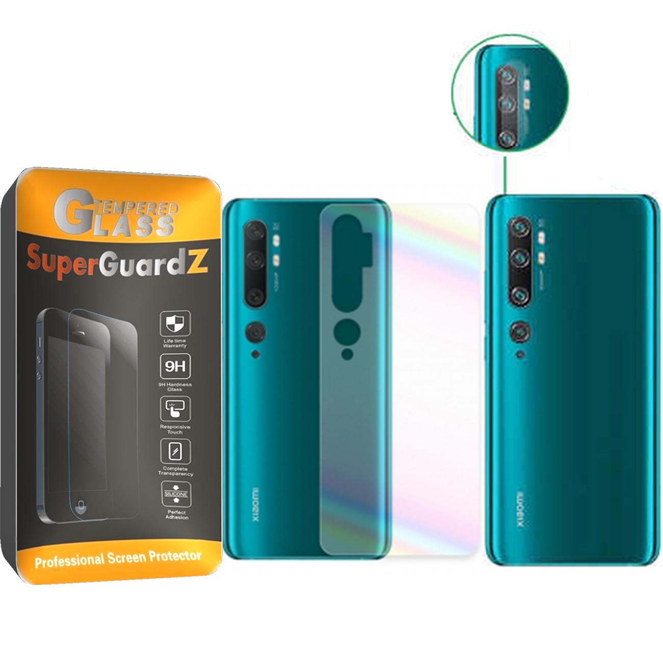محافظ پشت گوشی مدل Ne-2 مناسب برای گوشی موبایل شیائومی MI NOTE 10 به همراه محافظ لنز دوربین