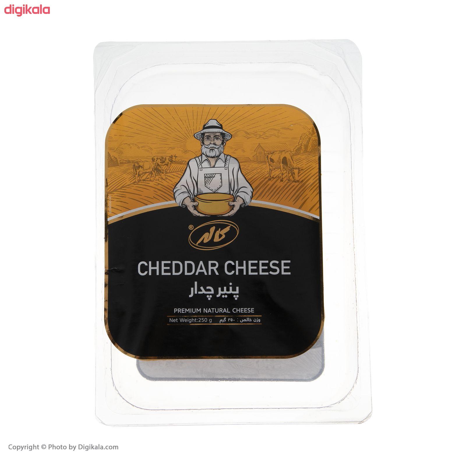 پنیر چدار ورقه ای کاله مقدار 250 گرم main 1 2