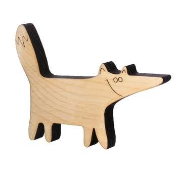 اسباب بازی چوبی مدل روباه