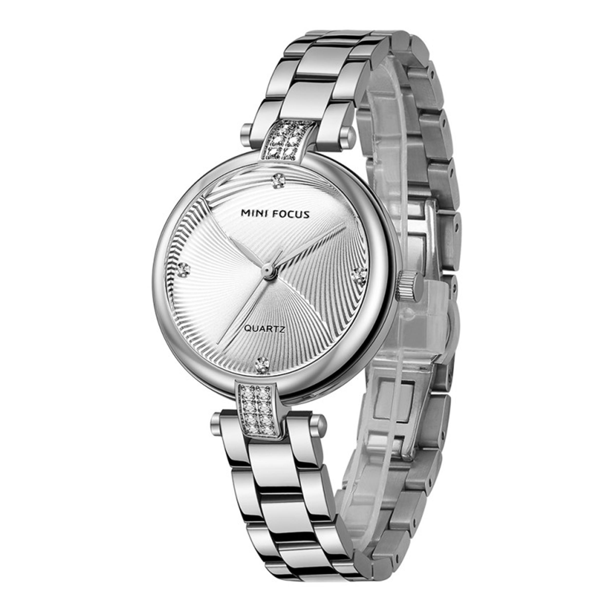 خرید و قیمت                      ساعت مچی  زنانه مینی فوکوس مدل MF0310L.01