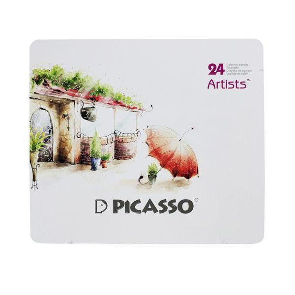 مداد رنگی 24 رنگ پیکاسو مدل Artist