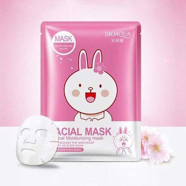 ماسک صورت بایو آکوا مدل آبرسان وزن 30 گرم