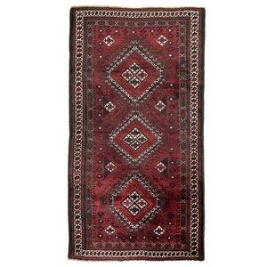 فرش قدیمی  دستباف سه متری طرح بلوچ مدل 0200242