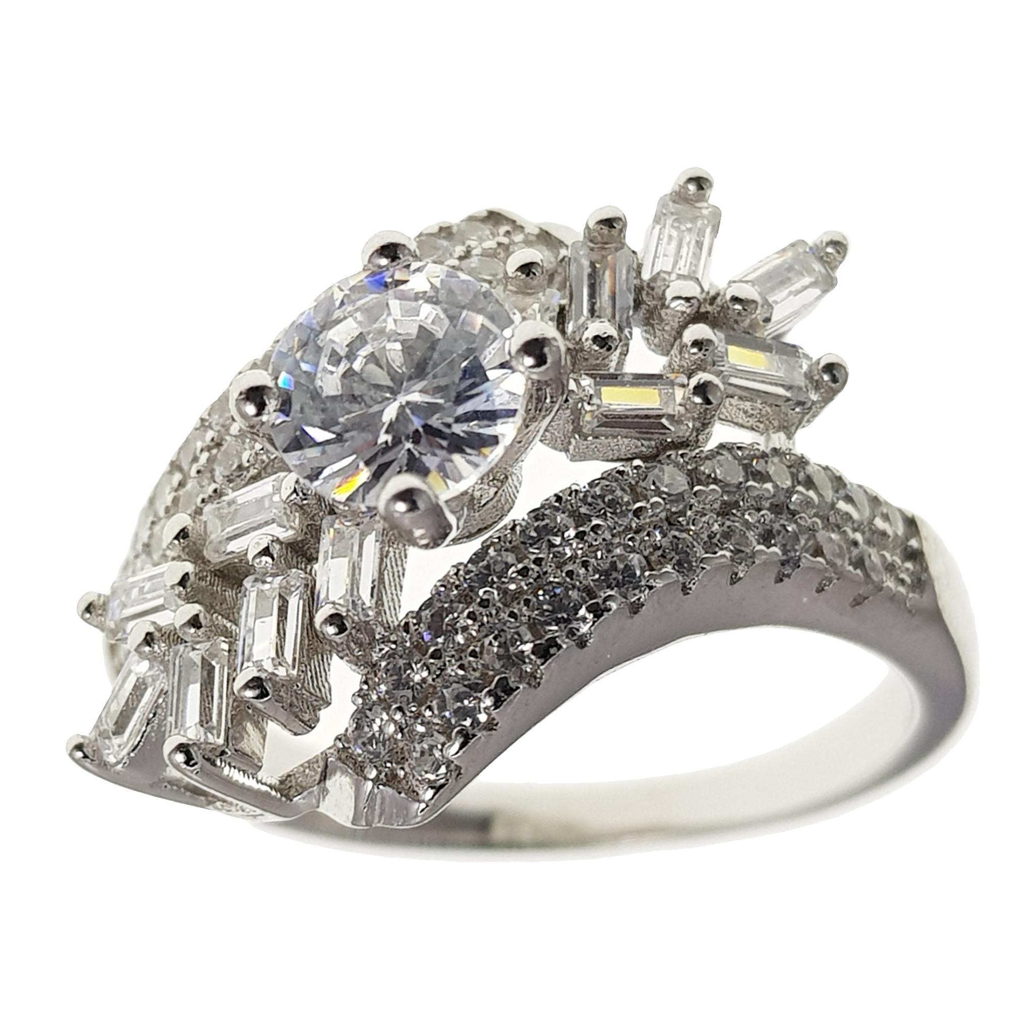 انگشتر نقره زنانه,انگشتر نقره زنانه سلین کالا