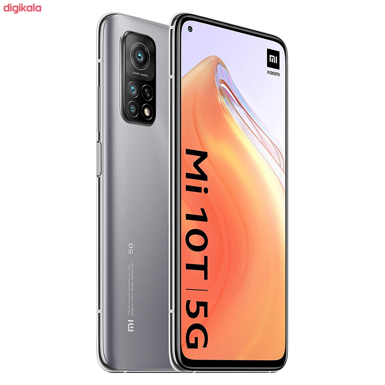 گوشی موبایل شیائومی مدل Mi 10T 5G M2007J3SY دو سیم کارت ظرفیت 128 گیگابایت و رم 8 گیگابایت