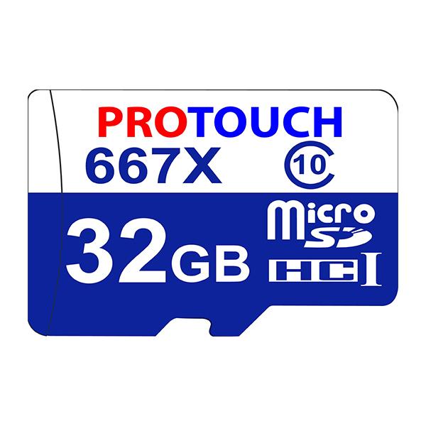 کارت حافظه microSDHC پروتاچ مدل Ultra کلاس 10 استاندارد UHS-1 U1 سرعت 100MBps ظرفیت 32 گیگابایت