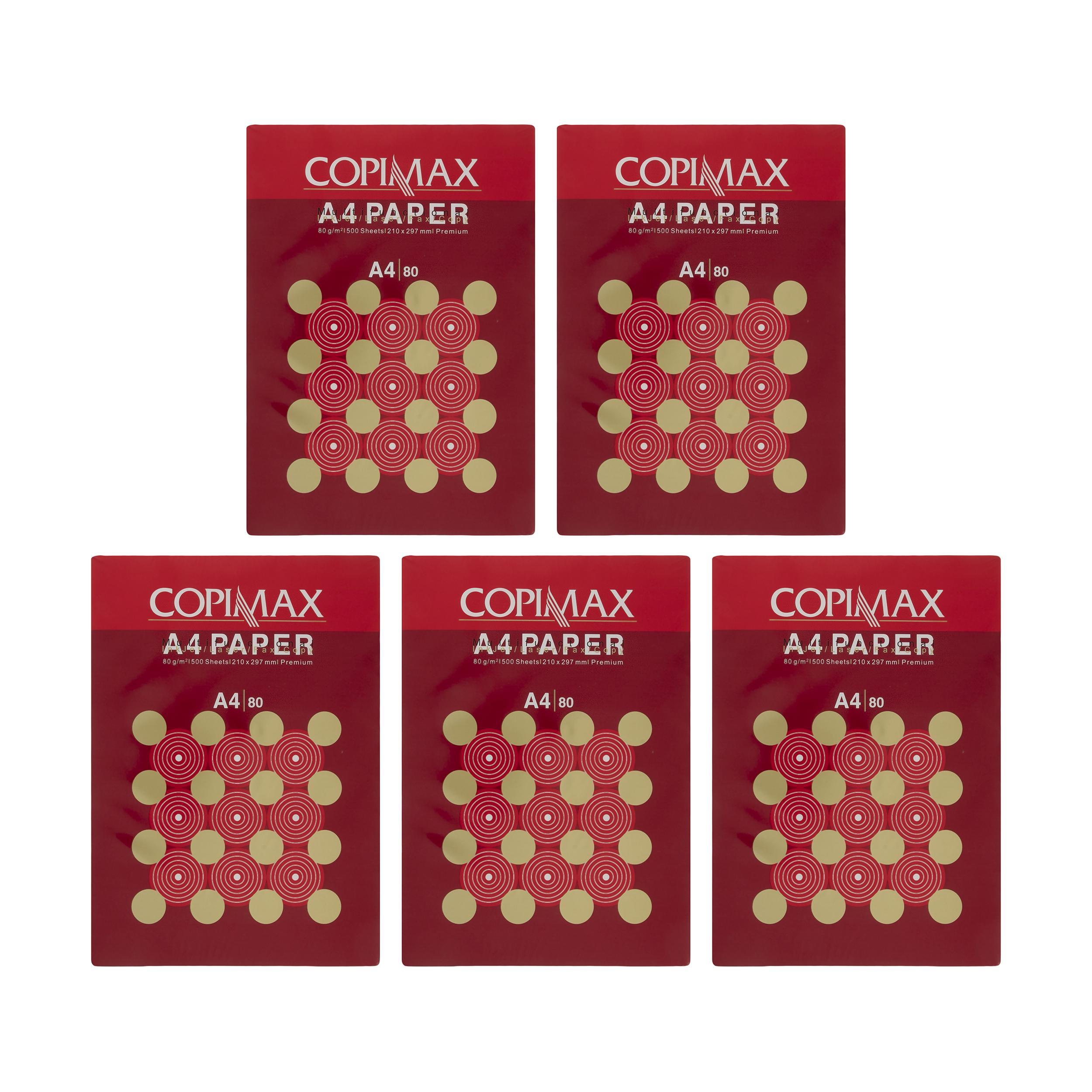 کاغذ A4 کپی مکس مدل Premium بسته 2500 عددی