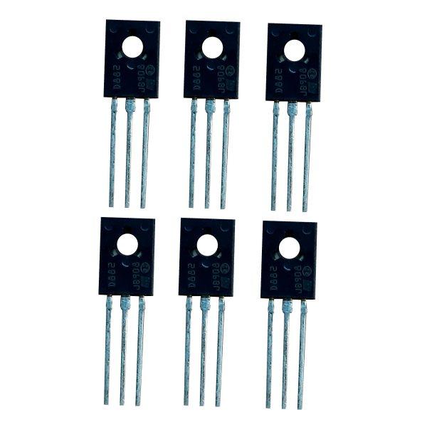 ترانزیستور اس تی مایکرو الکترونیکس مدل D882 بسته 6 عددی