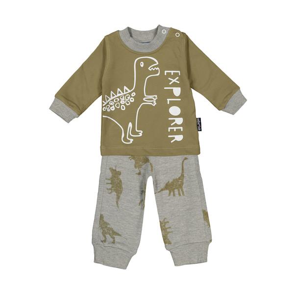 ست تی شرت و شلوار پسرانه آدمک مدل 2171136-48