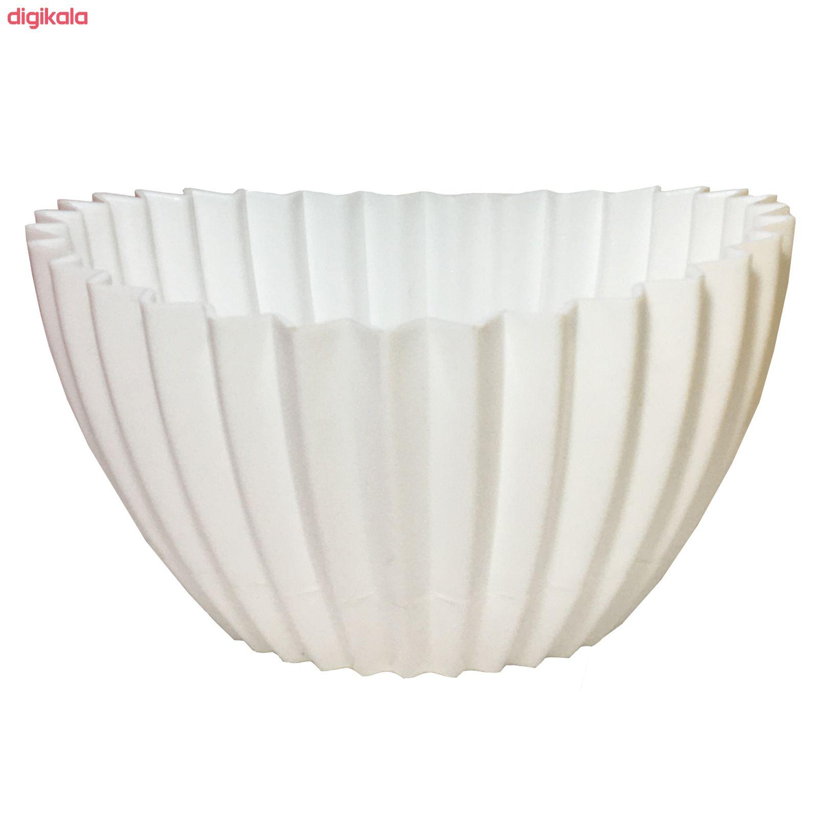 گلدان دانیال پلاستیک کد 3011 مجموعه 3 عددی main 1 1