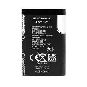 باتری موبایل مدل BL/4C ظرفیت 890 میلی آمپر ساعت مناسب برای گوشی موبایل نوکیا 6300/4C