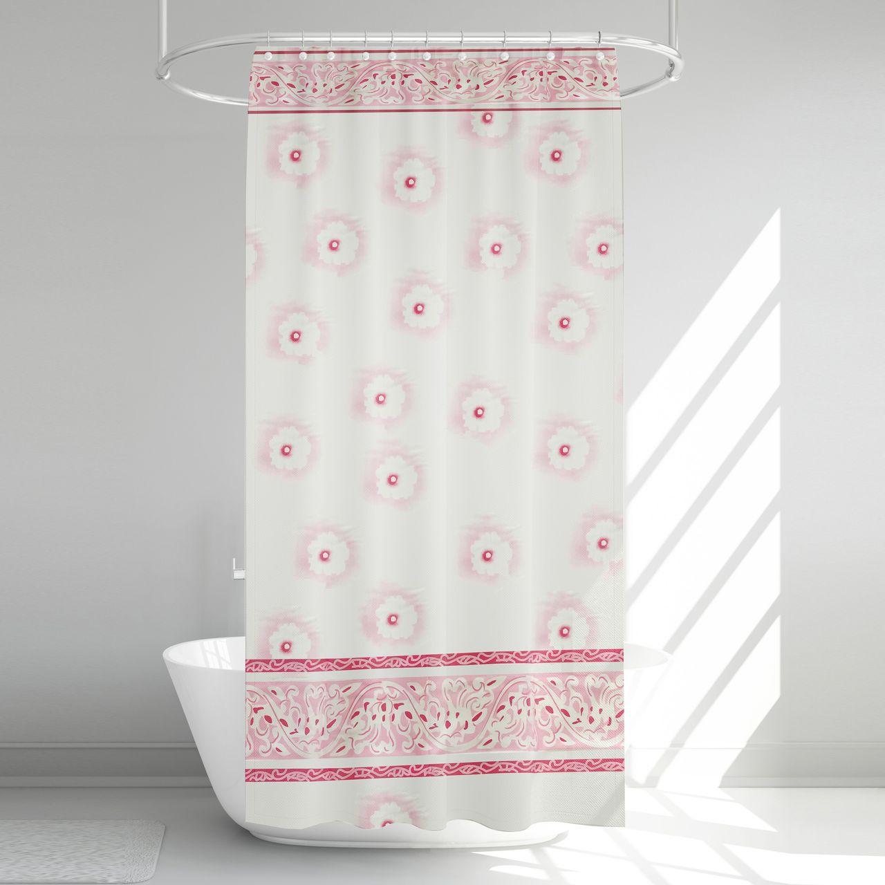 پرده حمام آرمیتا کد W011 سایز 180 × 200 سانتی متر