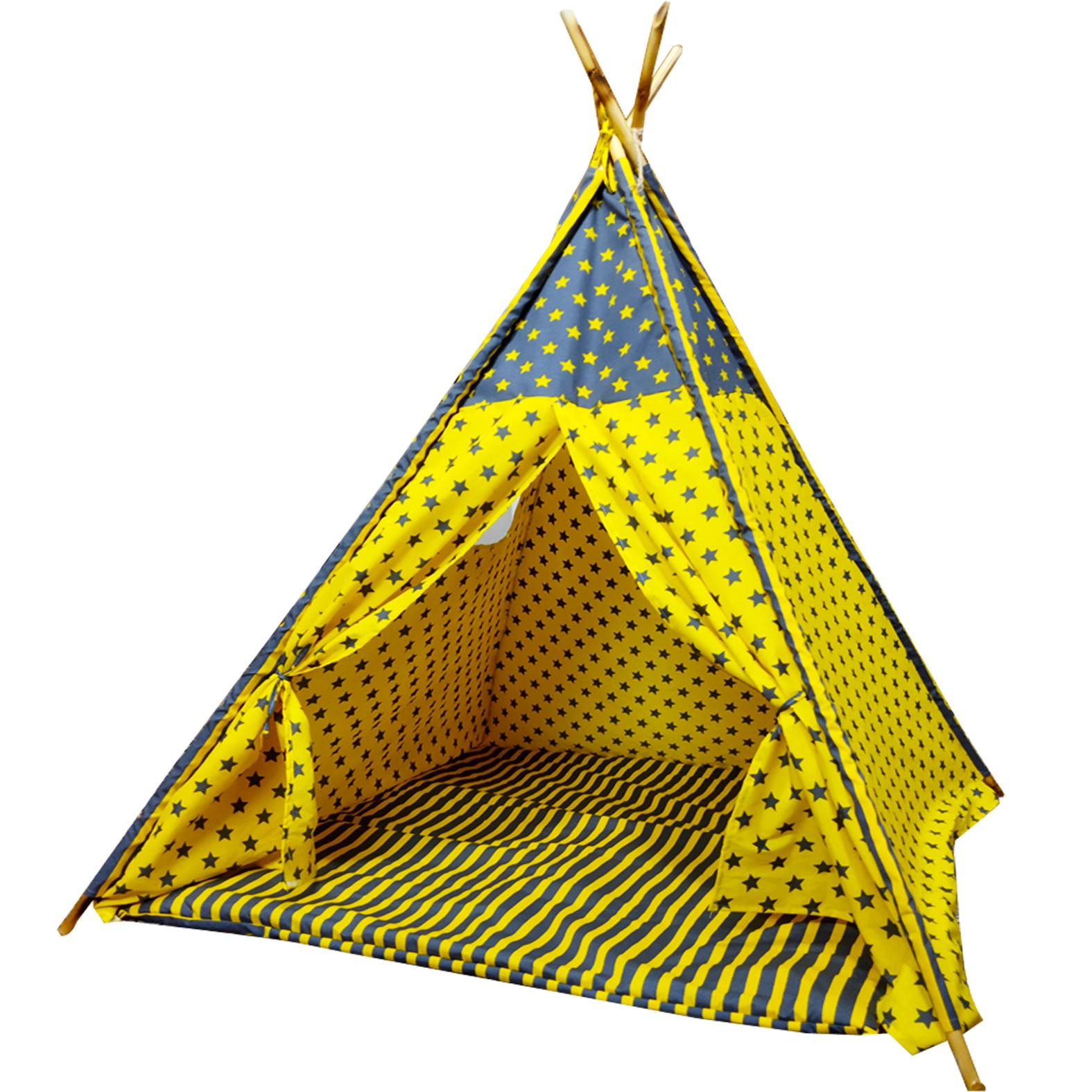 چادر بازی کودک مدل سرخپوستی کد 221