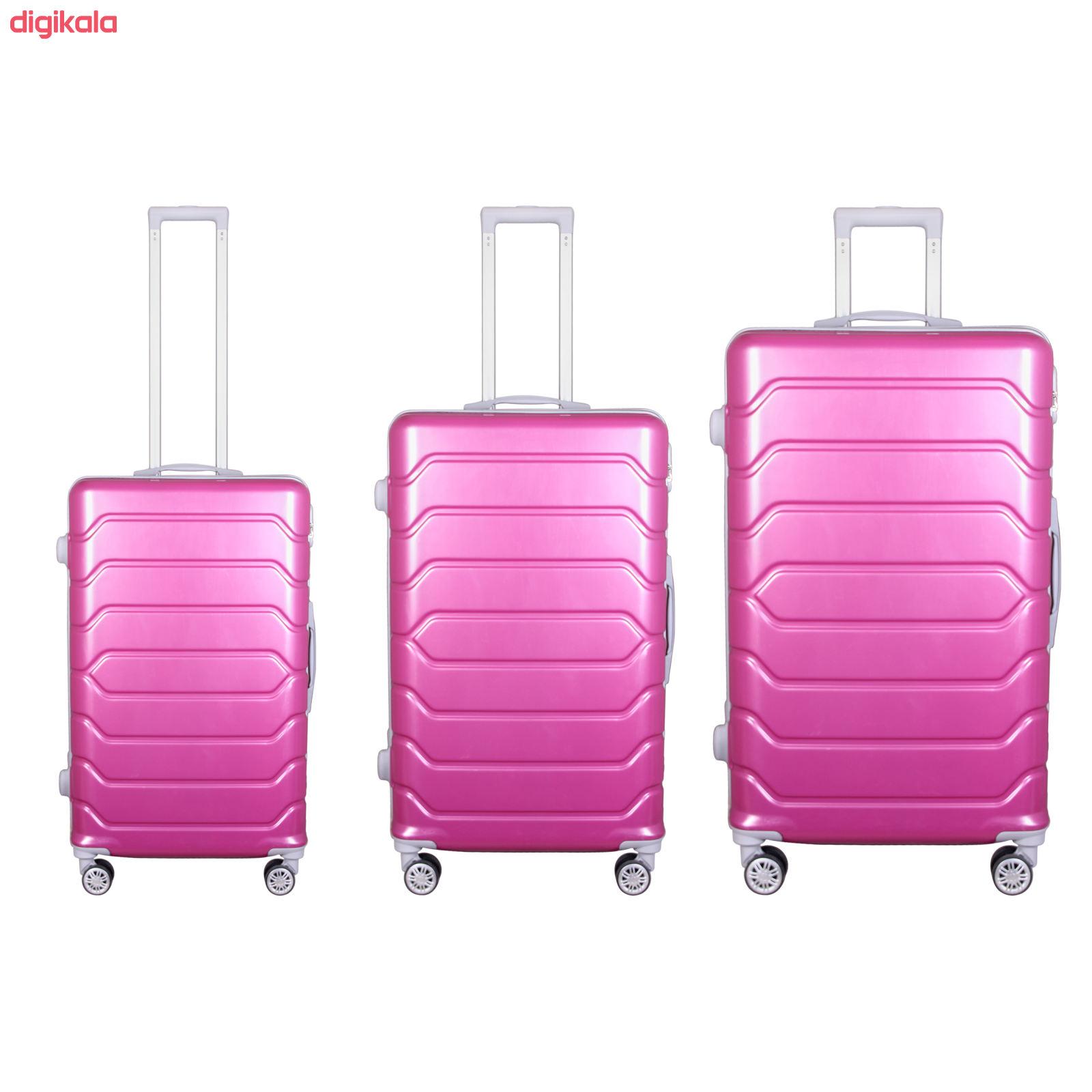 مجموعه سه عددی چمدان مدل 10021 main 1 34