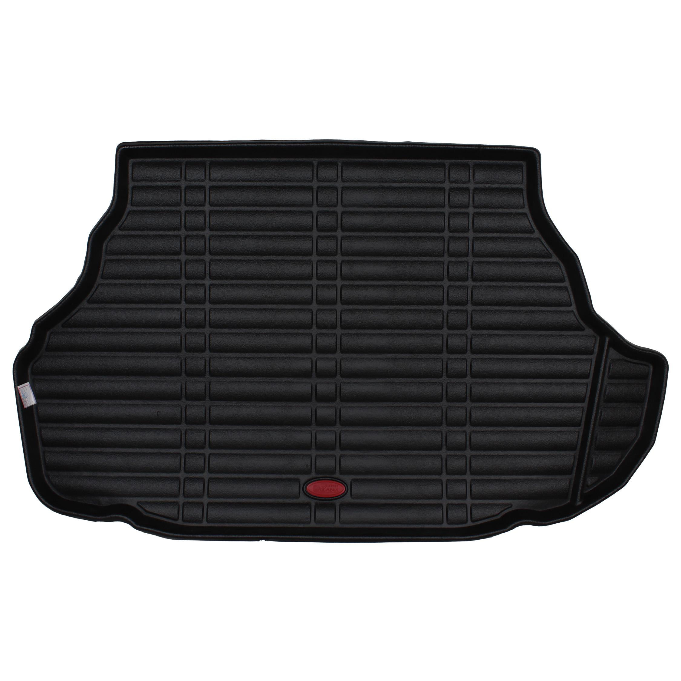 کفپوش سه بعدی صندوق خودرو بابل مدل ch6565 مناسب برای کمری