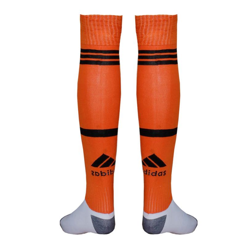 جوراب ورزشی طرح یوونتوس مدل 2021 رنگ نارنجی