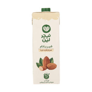 شیر بادام غیر لبنی نیچر لین - 1 لیتر