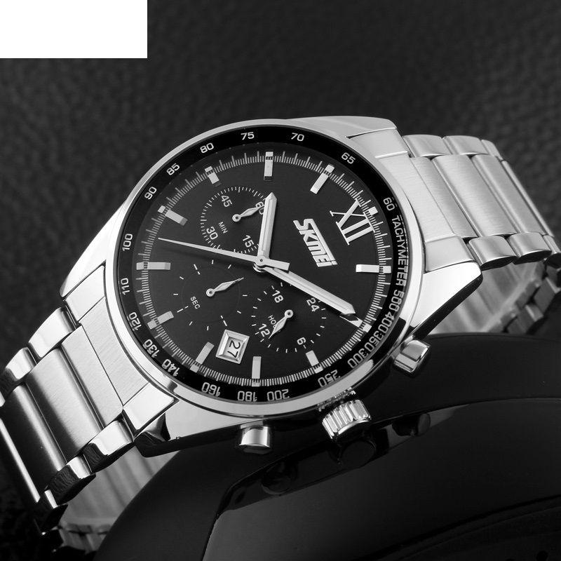 ساعت مچی عقربه ای مردانه اسکمی مدل 96-90 -  - 7