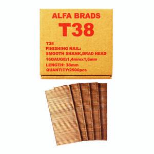 میخ بست آلفا مدل T38 بسته 2500 عددی