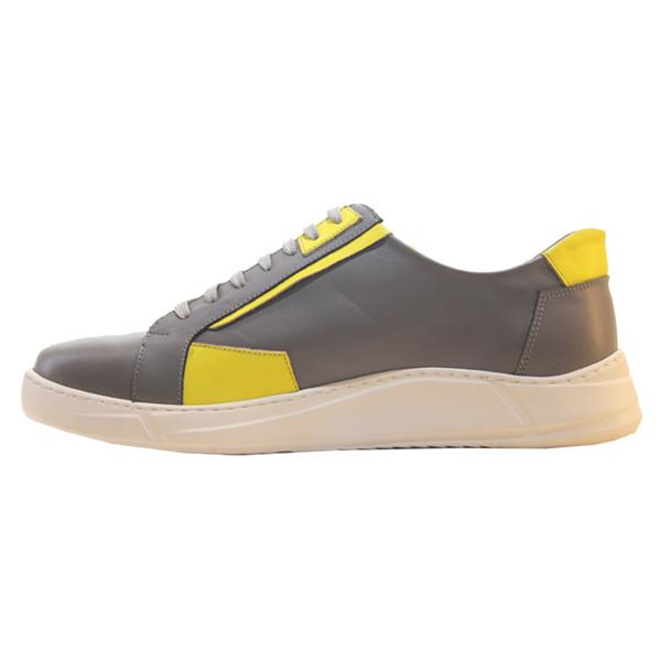 کفش روزمره مردانه چرم آرا مدل sh022 کد tz