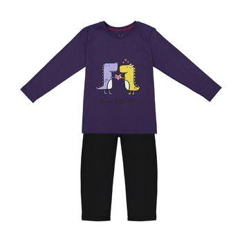 ست تی شرت و شلوار دخترانه ناربن مدل 1521266-69