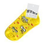 جوراب زنانه پیانو مدل باب اسفنجی کد Z-001