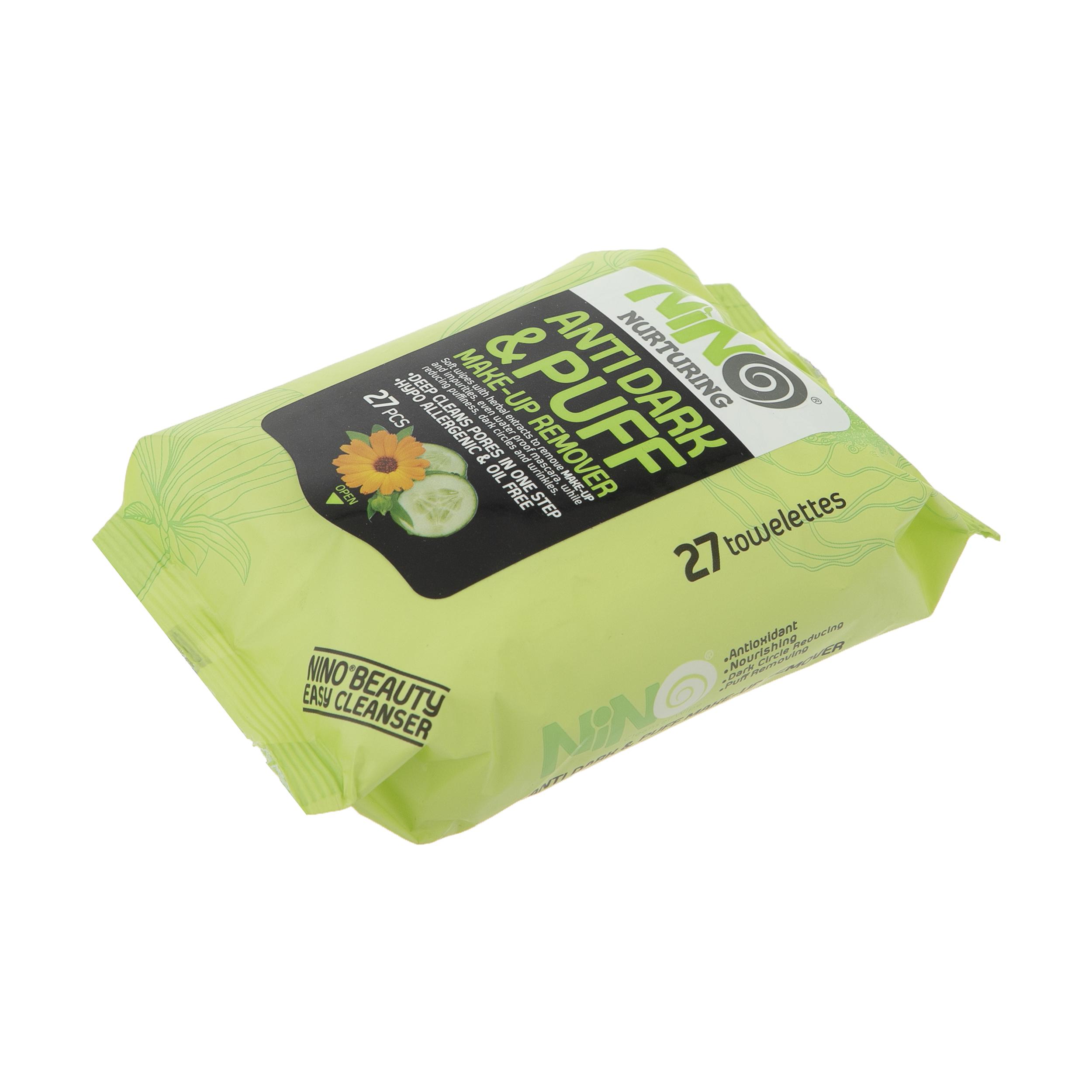 دستمال مرطوب نینو مدل Cucumber بسته 27 عددی