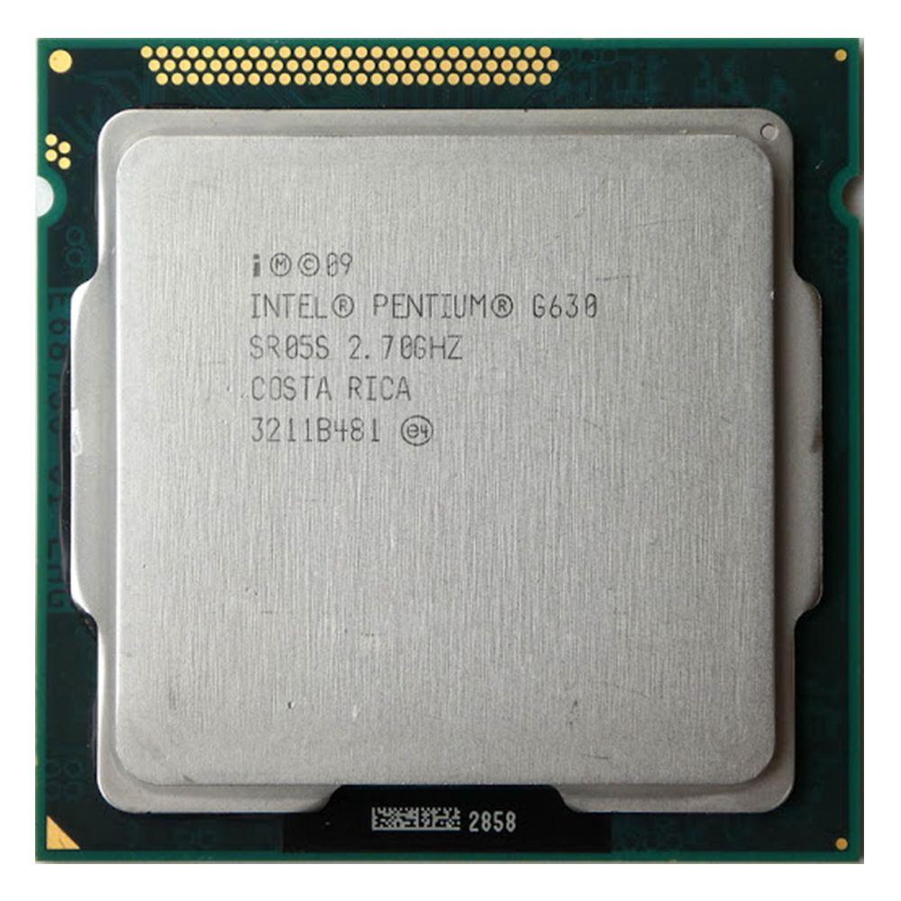پردازنده مرکزی اینتل سری Sandy Bridge مدل Pentium G630 Tray