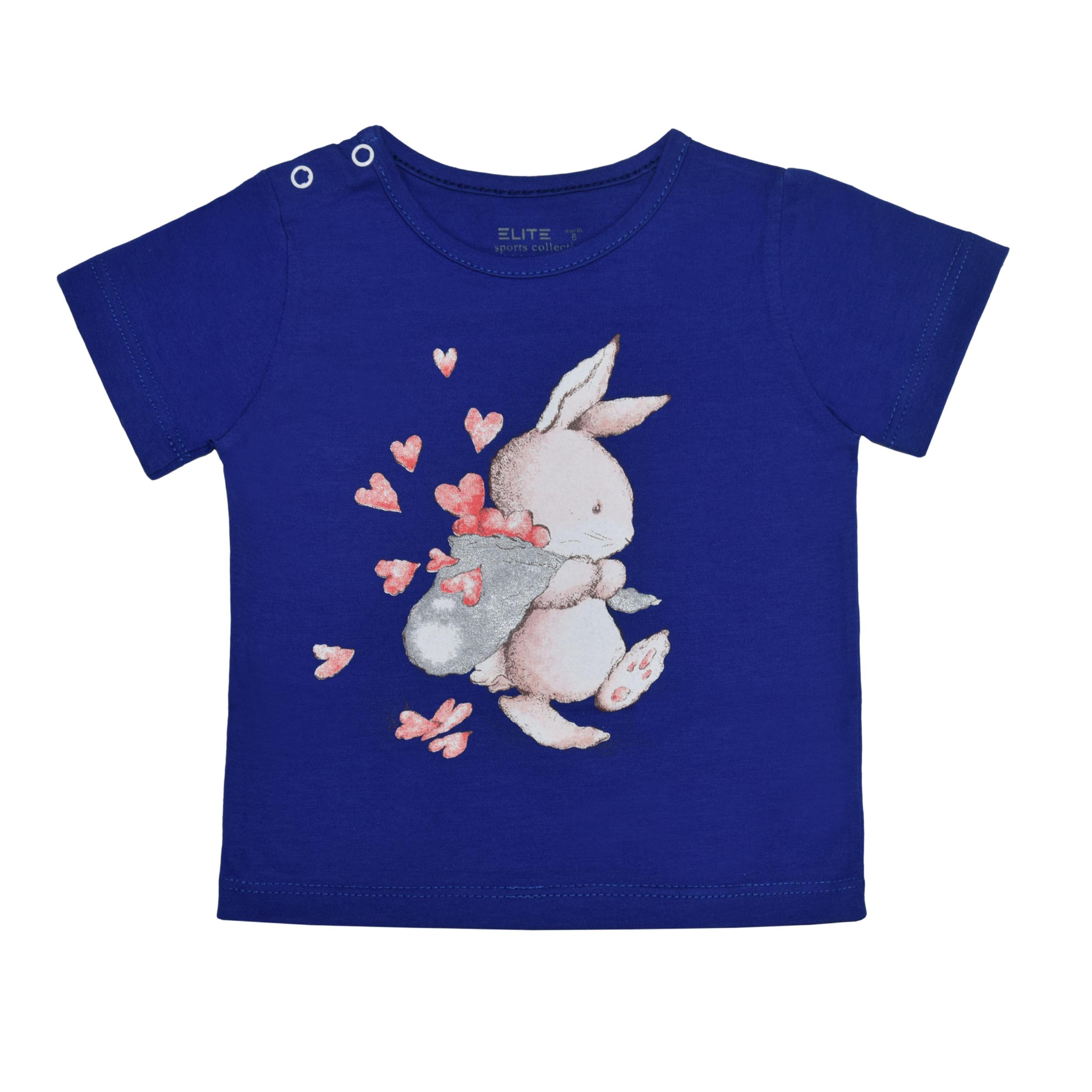 تی شرت دخترانه الیت مدل 3-635