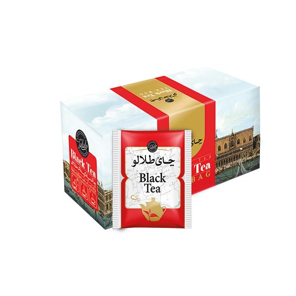چای کیسه ای صنایع غذایی طلالو بسته 25 عددی