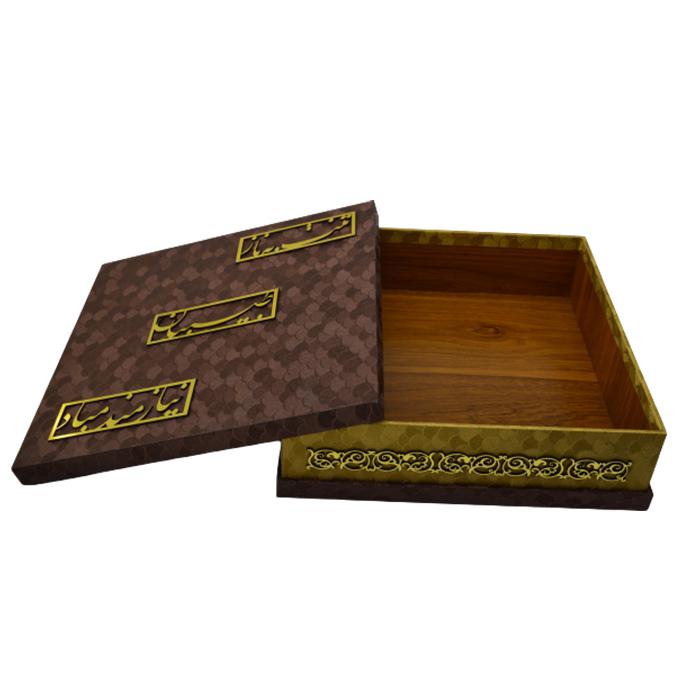 خرید                      جعبه هدیه مدل مربعی کد b107