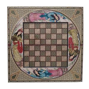 صفحه شطرنج خاتم کاری مدل لیلی کد 5050