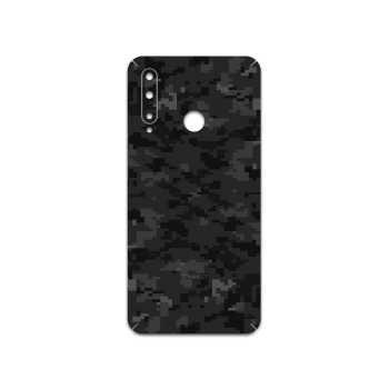 برچسب پوششی ماهوت مدل Night-Army-Pixel مناسب برای گوشی موبایل آنر 20 Lite