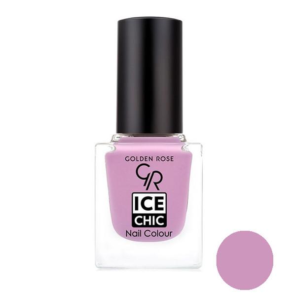 لاک ناخن گلدن رز مدل Ice chic شماره  30